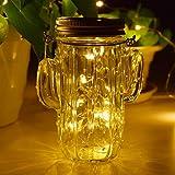 Opard Mason Jar Licht Solar-Laterne Led Solarleuchten Garten solarlampe- Jar Fee Licht, Wasserdichte Glasgläser Garten Hängeleuchten, LED Weihnachtsbeleuchtung,LED String Licht für Party (Warmweiß)
