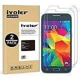 iVoler [Pack de 2] Verre Trempé Compatible avec Samsung Galaxy Core Prime [Garantie à Vie], Film Protection en Verre trempé écran Protecteur vitre (0,3mm HD Ultra Transparent)