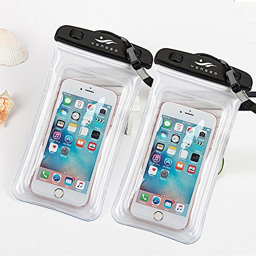 Universal Wasserdichte Schutzhülle, JOTO Handy Dry Bag Pouch für iPhone 8/7/7Plus/6S/6/6S Plus/SE/5S, Samsung Galaxy S8/S8Plus/Note 8654, Google Pixel 2HTC lg2p, 32-4-2 (Otterbox Case 5 Nexus)