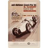 Nostalgic Art 20286 AvD Oldtimer Antique Car Audi Grand Prix Metal Sign 20 x 30 CM