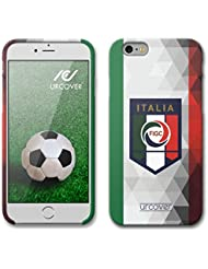 URCOVER Coque Equipe de Italie pour Apple iPhone 6 / 6s | Championnat d? Europe Spécial UEFA EURO 2016 | Coque Sportif Footbal Cover Housse Étui Drapeau National