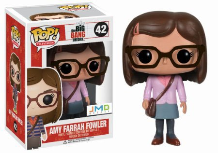 Big Bang Theory Amy Pink Jumper POP! Figur 9 cm Exclusive
