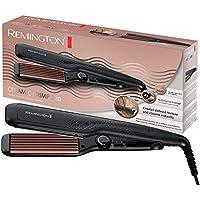 Remington S3580 - Plancha de pelo, 220 C, ceramica avanzada, crea textura y