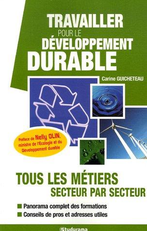 Travailler pour le développement durable