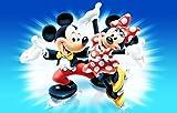 Mickey,Minnie Mouse Torten Druck