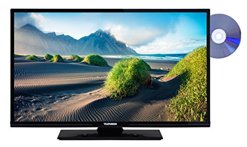 Telefunken XH32D101D 81 cm (32 Zoll) Fernseher (HD Ready, Triple Tuner, DVD-Player)Schwarz (Receiver Dvd-player)