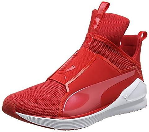 Puma Damen Fierce Core Sneakers, Rot (High Risk Red-Puma White 04), 40 EU