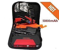 PR Power Bank Charger Portable 50800mAh Vehicle Car Jump Starter Booster Battery For Mobile Laptop-Mahindra Bolero Type 2 (2007-2009)