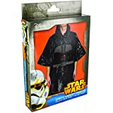 Star Wars - Disfraz poncho Darth Vader, color negro (Paladone PP2825SW)