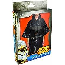 Star Wars - Disfraz poncho Darth Vader, color negro (Paladone PP2825SW)
