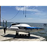 RADIO CONTROLLED RC BOAT 912 2.4GHZ RACING ELECTRIC HIGH SPEED WHITE REMOTE CONTROL