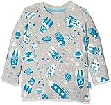Kite Cosmos T-Shirt, Maglietta a Manica Lunga Bimba, Grey (Grey Marl), 2 mesi