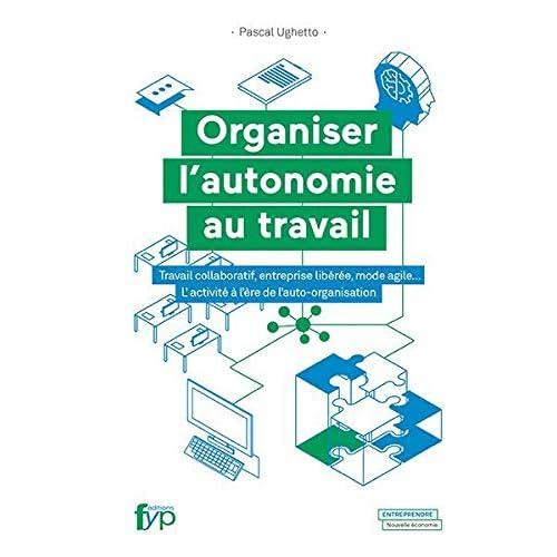 Organiser l'autonomie au travail: Travail collaboratif, entreprise libérée, mode agile.