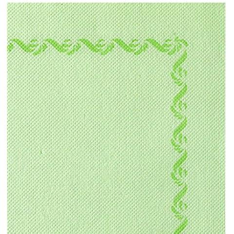 Paquetes de 50 unidades, tabaco en rama, 38 x 38 cm, color verde con marco