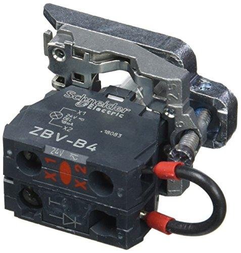 Schneider ZB4BVB4156 Körper für Meldeleuchte, ZB4, mit LED-Modul, rot, 24 - Led-meldeleuchte