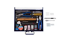 Autofy 18-in-1 All Purpose Bansal Tool Box with Metal Suitcase (Gold)