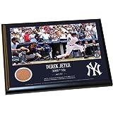Steiner Sports MLB New York Yankees Derek Jeter Moments: dj3K 8x 10Schmutz Plaque