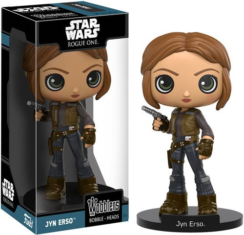 Star Wars 604225 Rogue One-Wobbler Jyn Erso