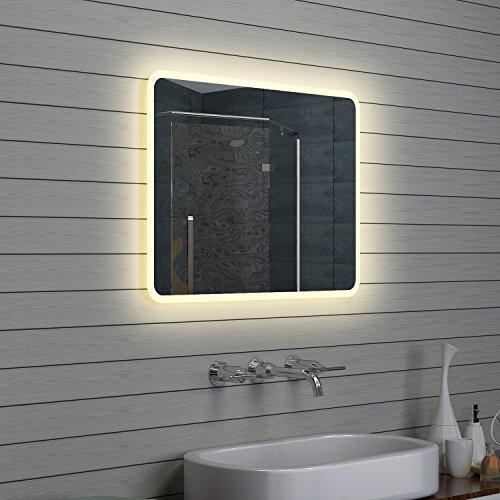 Lux de Aqua Design Miroir mural Miroir lumineux LED Salle de Bain