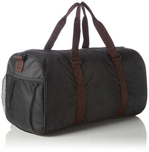 Premium Sporttasche von QuabFit Damen Herren Gym Fitness Fitnessstudio Schuhfach Nassfach Schwarz 40L