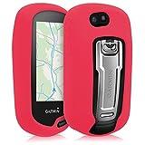 kwmobile Étui pour Garmin Oregon 700 / 750t / 600/650 - Housse de Protection en Silicone pour Navigateur GPS Pédestre - Rouge