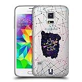 Head Case Designs Schütze Sternbild Der Sternzeichen Ruckseite Hülle für Samsung Galaxy S5 Mini