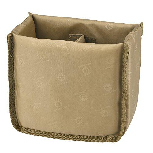 ArcEnCiel Tactical Kamera Messenger Bag Military Schultertasche Rucksack EDC Sling Pack für Wandern Camping Trekking Motorrad mit Patch, Insert Bag (Coyote Brown) (Camera Bag Insert Für Rucksack)