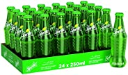 Sprite Regular Carbonated Soft Drink, Glass Bottle - 250 ML (Pack of 24)