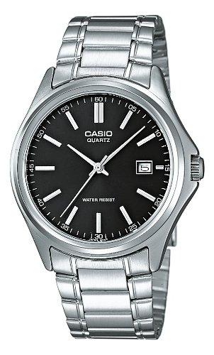 Casio Herren Analog Quarz mit Edelstahl Armbanduhr MTP 1183PA 1A
