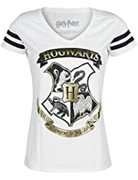 Harry Potter 4 Guild Crest T-shirt Femme blanc