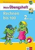 Klett Mein Übungsheft Rechnen bis 100 Mathematik 2. Klasse: Grundschule (Die kleinen Lerndrachen)
