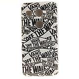 KATUMOTPU Case Nexus 5X Hülle aus Weichem Silikon Crystal Clear Cover für LG Nexus 5X Caso, Tigre Weiß