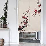 Mr Fantasy japonés Noren cortina de puerta tapiz decorativo Fly mosquitera cortina chino pintura,...