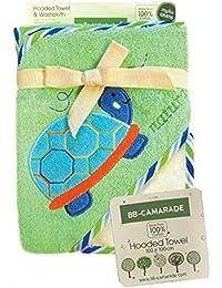 BB-CAMARADE - Cape de bain bébé, sortie de bain, serviette bébé à capuche, peignoir.