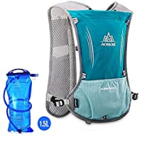 AONIJIE Hydration Pack Backpack Marathoner Running Race Hydration Vest Running Hiking Backpack with Hydration Pack