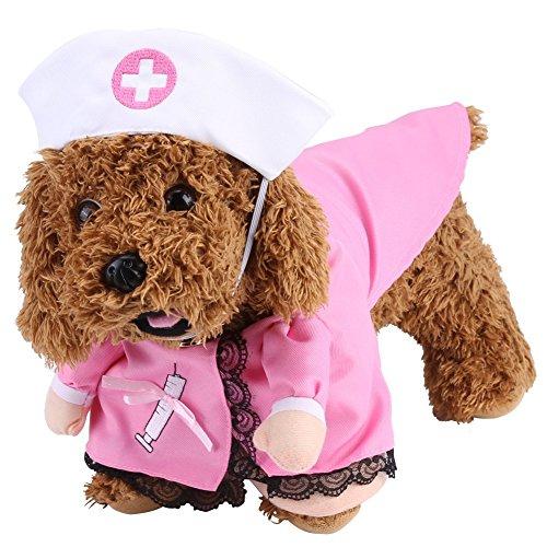 Arzt Pet Kostüm - Funny Hund Kostüm, PET Arzt Krankenschwester Cosplay Suit Hunde Kleidung Puppy Katze Halloween Thema Party Outfit Apparel