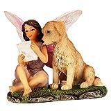 #10: Wonderland Miniature fairy garden Fairy read letter 2 inches for planter decoration, bonsai, terrarium, garden decor, mini, miniatures, tray garden, doll house, kids room decor, gift, home decoration item