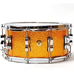 "Ludwig Classic Maple 14"" x 6,5"" Gold Sparkle · Snare drum"