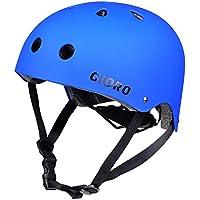 Gioro Skate Casco ajustable Bicicleta Casco ciclo/Moto/Skating Casco Deportes Casco, color