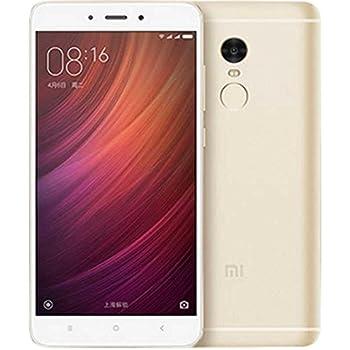 Xiaomi Redmi Note 4 Smartphone 5,5'' 4G 32 GB  Doble Sim, Con Google Play [Version Europea] Oro