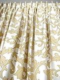 2 Vorhänge *ECCELLENTE creme-beige* der Marke