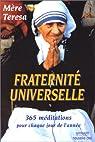 Fraternité Universelle par Teresa