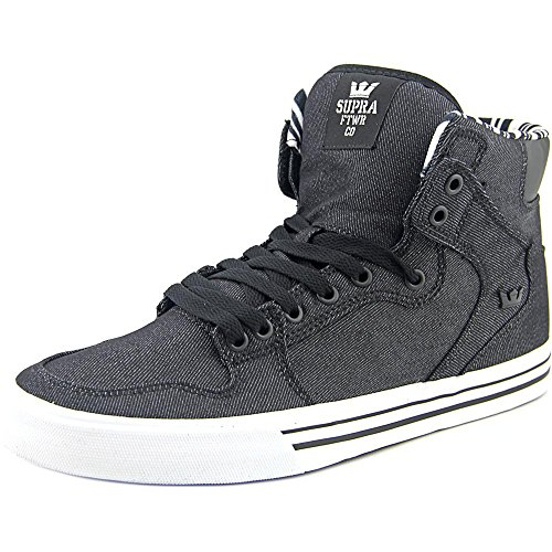 Supra Vaider S28058, Sneaker Uomo Noir-blanc