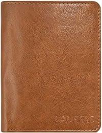 Laurels Aspire Tan Leather Men's Wallet (Lw-Asp-06-Bk)