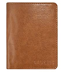 Laurels Aspire Tan Leather Mens Wallet (Lw-Asp-06-Bk)