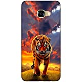 For Samsung Galaxy A7 (2017) Dangerous Tiger ( Tiger, Cloud, Nice Lion, Sunset, Cute Tiger ) Printed Designer Back Case Cover