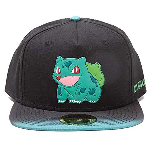 (Pokemon fedsb290204pok–Bulbasaur Gummi Patch mit Dye Effekt Snapback Cap One Size)