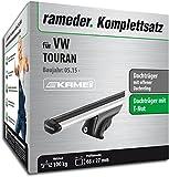 Rameder Komplettsatz, Dachträger Relingträger Kamei für VW TOURAN (135346-14158-26)