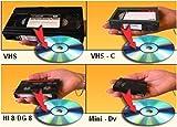 DIGITAL8VIDEO88mm HI8super VHS vhs-c Minidv Hdv Dvcam a DVD transfer System