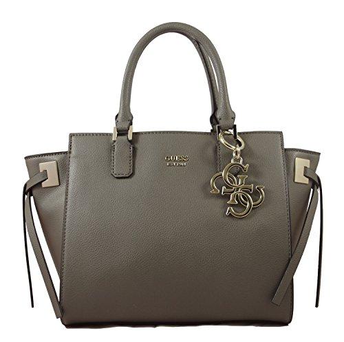 Guess Damen Bags Hobo Shopper, Grau (Fog), 15.5x23.5x36 centimeters (Hobo-handtasche Guess)